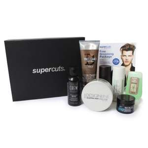 Supercuts Mens beauty Box: Autumn 2017 Edition PLUS FREE Men's Grooming Package at Supercuts (worth £14.95) - £16.45 del with code @ Supercuts