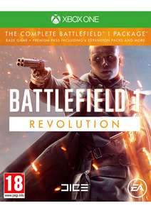 Battlefield 1 Revolution on Xbox One  £27.85 Del @ Simply Games