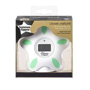 48% off Tommee Tippee Bath and Room Thermometer £9.99 prime / £13.98 non prime @ Amazon