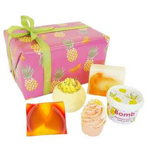 Bomb Cosmetics Totally Tropical Handmade Gift Pack  £8.99 prime / £13.74 non prime - Amazon