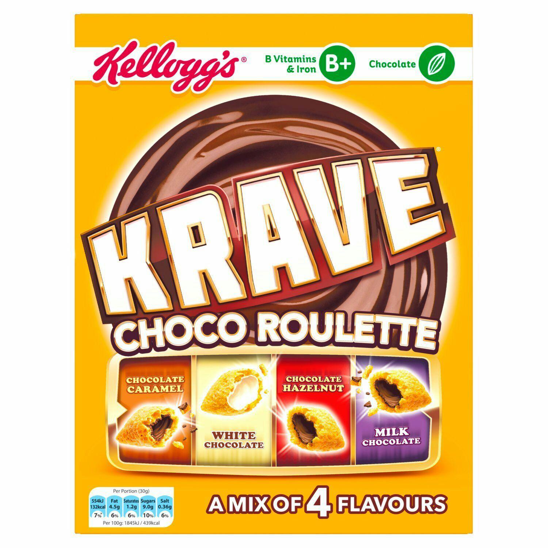 Krave Choco Roulette 375 g (Pack of 6) @ Amazon - £7.50 (Prime) £12.25 (Non Prime)
