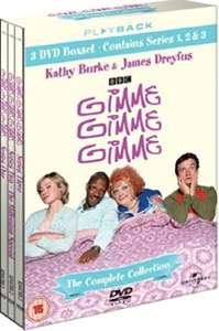 Gimme Gimme Gimme: The Complete Collection on DVD £4.50 using code @ Zoom