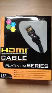 Platinum series hdmi leads £36 OFF!!!! - £2.99 instore @ RicherSounds