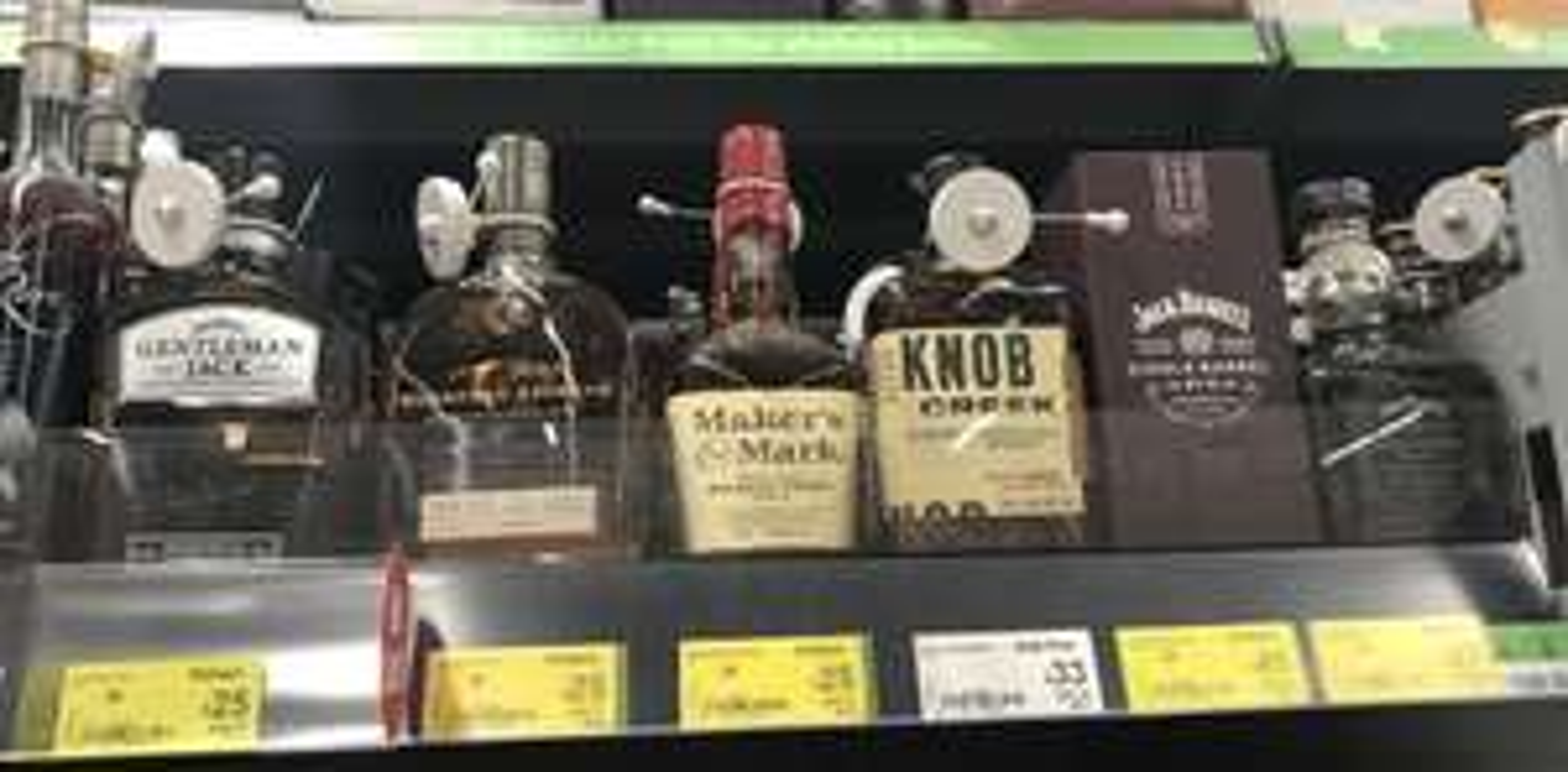 Various Jack Daniels Reduced Asda Motherwell e.g Gentleman Jack 70cl- Was £32, Now £25