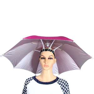 Hands Free Umbrella Hat with Adjustable Headband £3.48 @ Gearbest