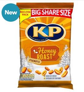 KP Honey roast nuts £2 @ Iceland