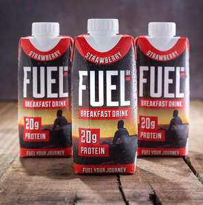 FREE FUEL10K Porridge Pot or Drink (purchase required)
