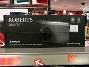Roberts BluPad Bluetooth Speaker With Leather Carry Case £69.99 @ TKmaxx instore
