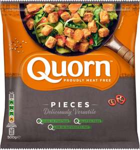 Quorn Meat Free Pieces (500g) (FROZEN) was £2.79 now £1.39 @ Ocado