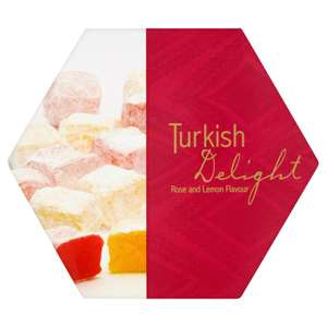 Turkish Delight Rose and Lemon Flavour (250g) ONLY £1.00 @ Iceland