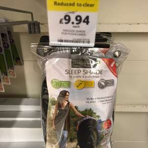 Baby Buggy black out blind - £9.94 instore @ Tesco