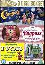Clangers (series 1) +  Bagpuss & Ivor The Engine Complete series 3 DVD's £7.99 + QUIDCO @HMV