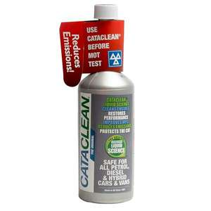 Cataclean 450ml petrol engine and cat treatmant £7.14 @ Eurocarparts