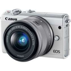 Canon EOS M100 Kit with EF-M 15-45mm Digital Mirrorless Camera - White £409.99 @ eglobal central