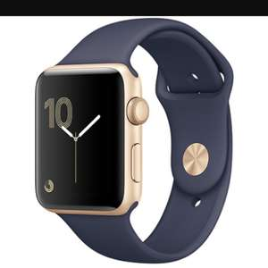 Apple Watch Series 2, 38mm Gold Aluminium Case With Midnight Blue Sport Band £269 @ Very