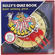Bullseye Dartboard And Quiz Book Set £5 (£4 with code)- (62% Off RRP of £12.99) @ the Works C+C