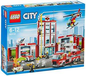 LEGO City Fire 60110: Fire Station Mixed - £47.99 @ Amazon (Prime Exclusive)