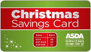 Asda Christmas Savings card: save £144 and get £6 bonus (as many times as you like)