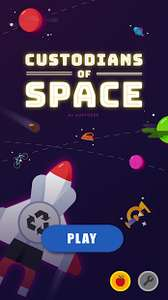 Google Play Store - Custodians of Space - Android Game