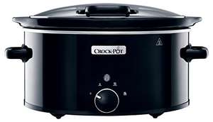 Crock-Pot CSC031 Slow Cooker with Hinged Lid (5.7 L) -  now £25.99 @ Amazon