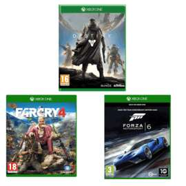 Preowned Xbox Games Bundle £25 @ Game: Forza Motorsport 6, Far Cry 4, Destiny