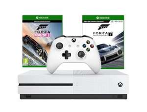 Xbox One S 500GB with Forza Horizon 3 & Forza Motorsport 7 £199.99 @ GraingerGames (New)