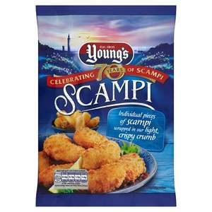 Youngs Scampi 220G - £1.50 @ Tesco (From 17.10.17)