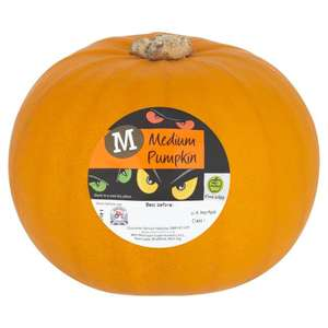 Free medium pumpkin for Morrisons Baby & More members + Student Match & More members