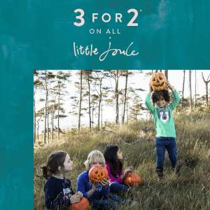 3 for 2 on kids clothing @ Joules