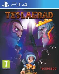 Teslagrad (PS4) £7.50 Delivered @ GAME