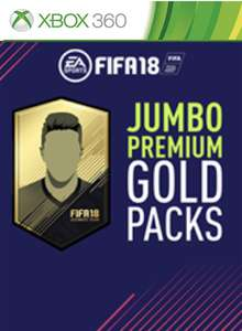 Fifa 18 jumbo gold packs Xbox 360 69p @ CD Keys