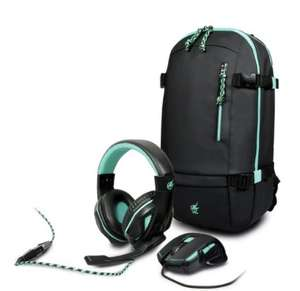 Arokh Gaming Mouse, Headset and Backpack Bundle £49.99 @ Argos