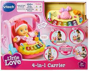 Vtech Little Love 4-In-1 Carrier £6.99 online (£10.98 del or £8.98 click & collect)​ @ TKmaxx