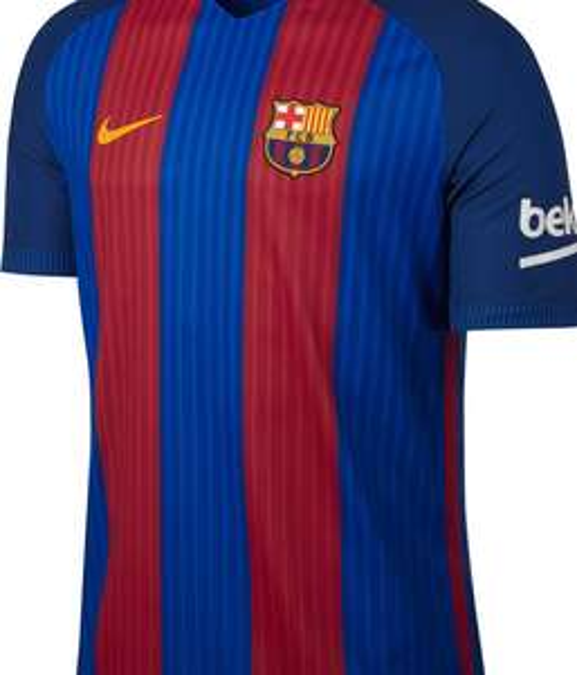 Nike Store - Kids/Youths Barcelona Football Shirt 16/17 £14 / shorts £7
