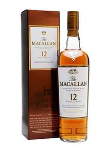 Macallan Sherry Oak 12y/o Scotch Whisky 70cl - £52.90 @ Amazon