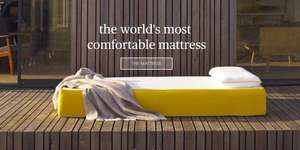 £100 off all Eve Mattresses for the whole of October