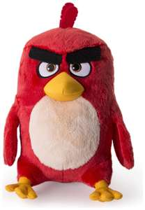 12 Inch Angry Birds Red Plush with Sound £6.99 @ eBay / Argos