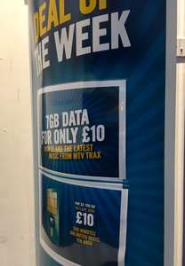 EE payg 500m/7GB/Unlimited texts  £10 for first month then £15 @ CPW
