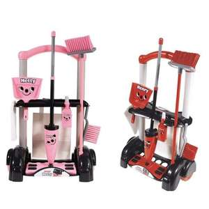 Casdon Henry Toy Cleaning Trolley £10.39 / Hetty Version £11.19 @ Tesco Direct (Free C&C)