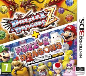 Puzzle and Dragons Z + Puzzle & Dragons Super Mario Bros Edition (3DS) Game £7.99 Delivered @Argos Ebay **Low Stock**