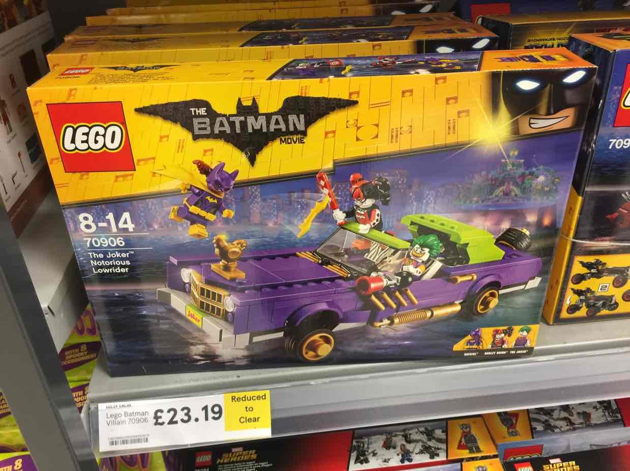 lego batman notorious low rider £23.19 instore @ Tesco