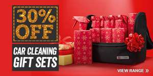 30% Off Car Cleaning Gift Sets Priced from £8  @ Halfords