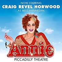 Annie at Piccadilly Theatre - £20 via Amazon Tickets
