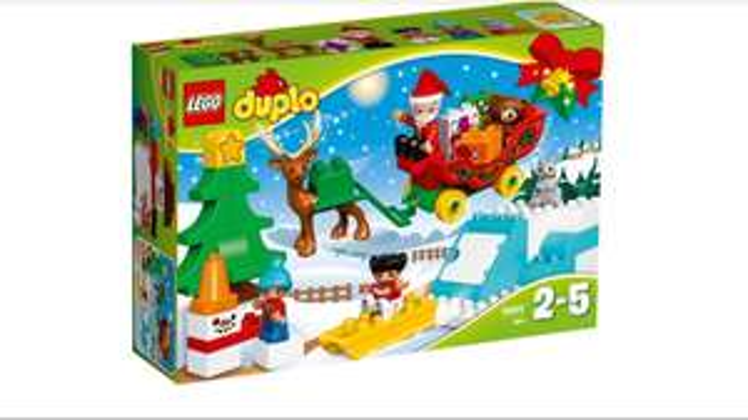 Lego Duplo Santa's holiday 10837 £16.49 @ John Lewis