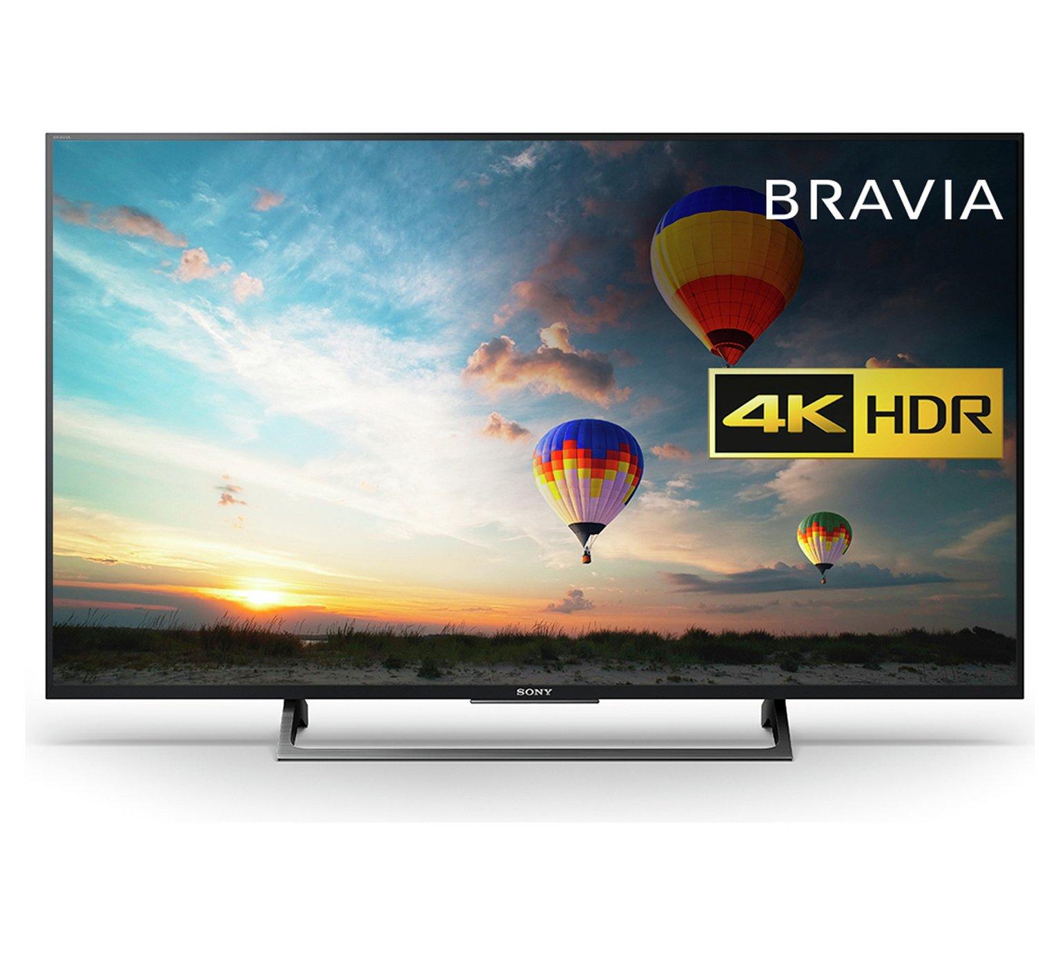 Sony 49XE8004 4K Ultra HD TV Argos £584.10 with code TV10