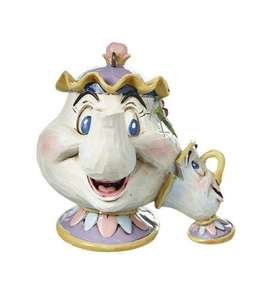 Disney Hanging Ornaments incl. Lumiere and Mrs Potts  - Buy 2 for £14.99  /  3 for only £19.99 + £10 Off £30 spend or Free delivery w/code at Studio