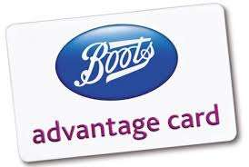 Collect £10 worth of points for every £50 you spend in store (Boots)