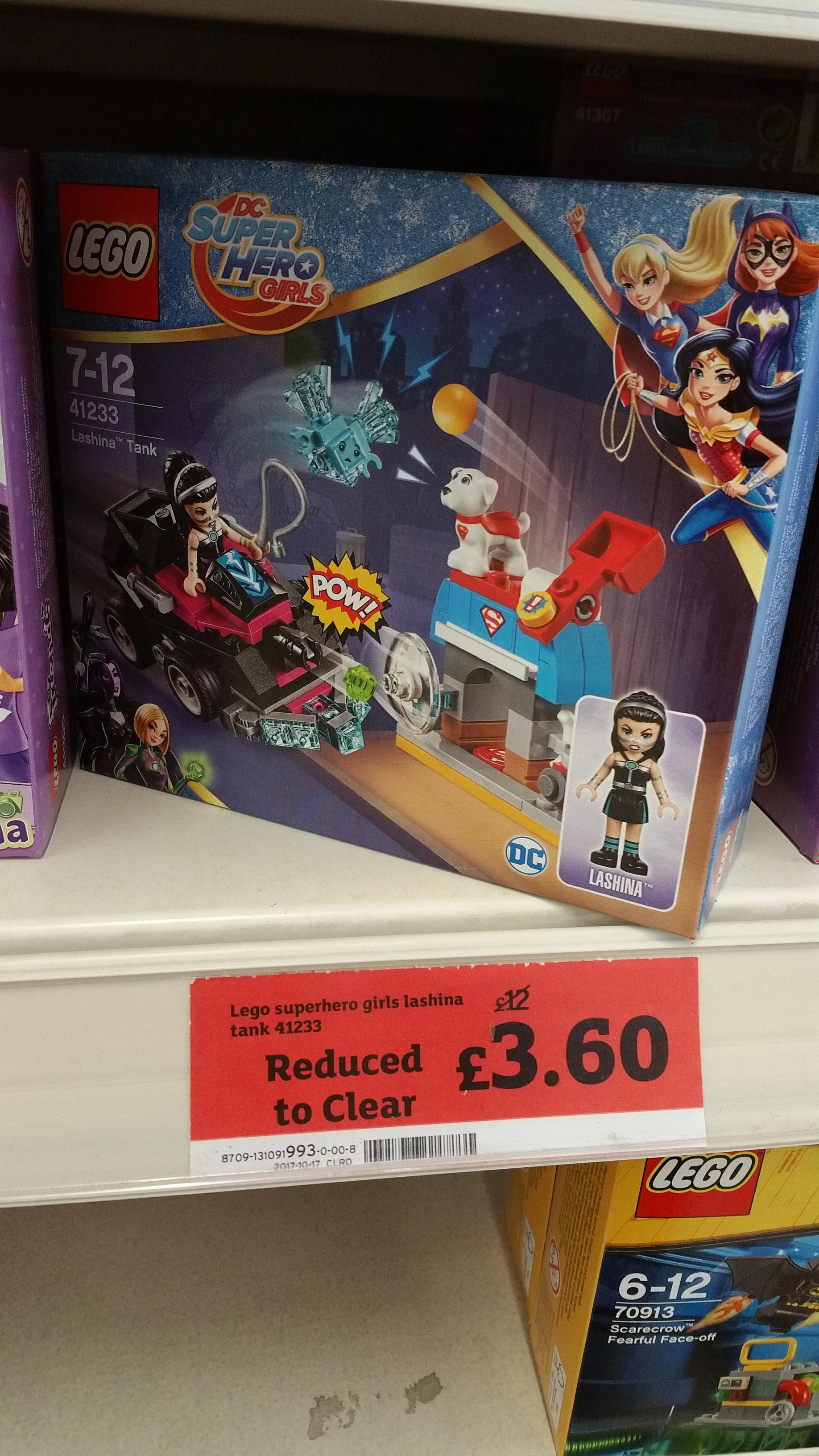 Lego 41233 Lashina Tank £3.60 Sainsburys instore
