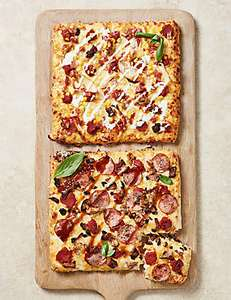 Buy 2 M&S Pizzas get 25% off - now £9