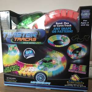Neon Glow Twister Tracks £9.99 at Home Bargains